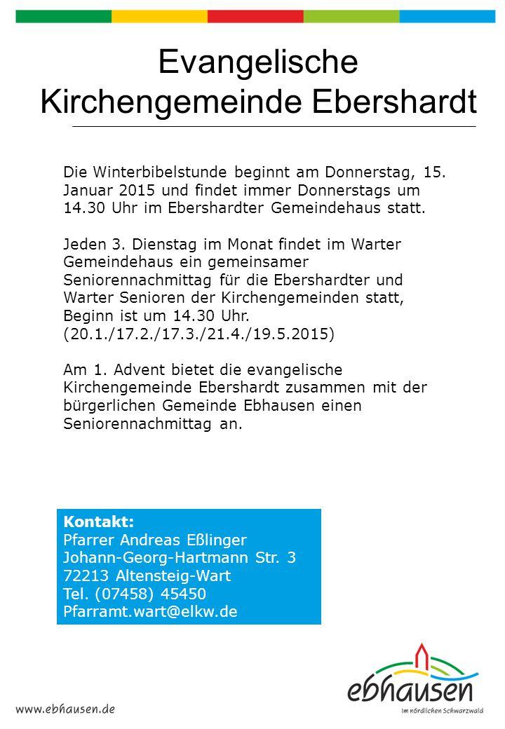 Evangelische Kirchengemeinde Ebershardt