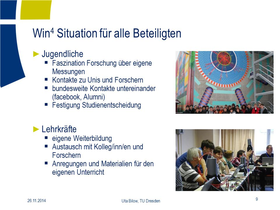 Win4 Situation für alle Beteiligten