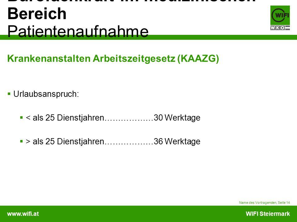 Krankenanstalten Arbeitszeitgesetz (KAAZG)