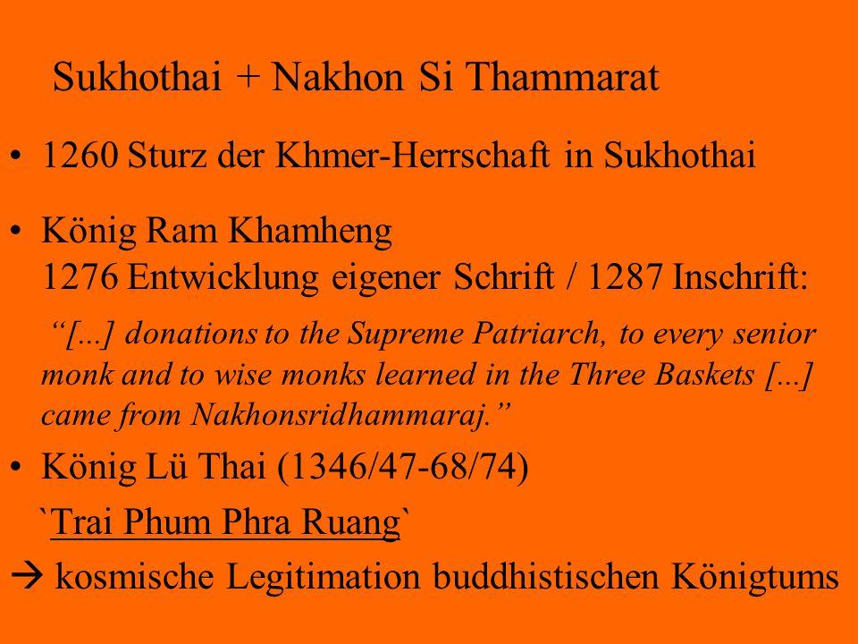 Sukhothai + Nakhon Si Thammarat