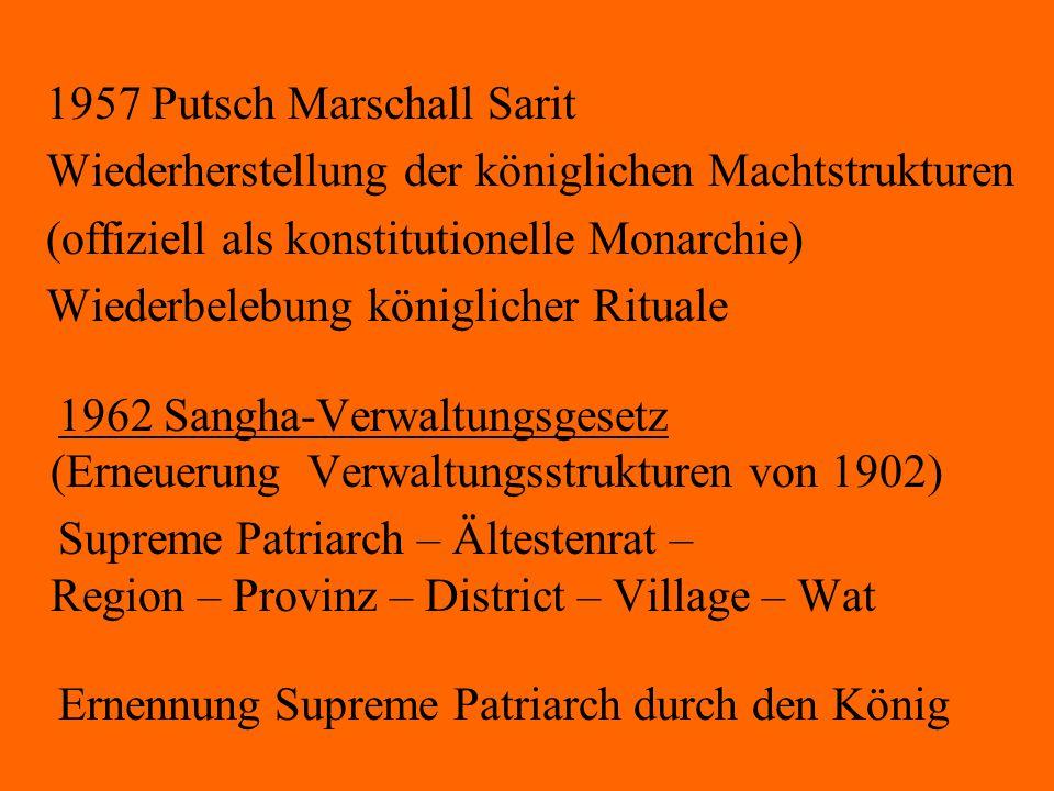 1957 Putsch Marschall Sarit