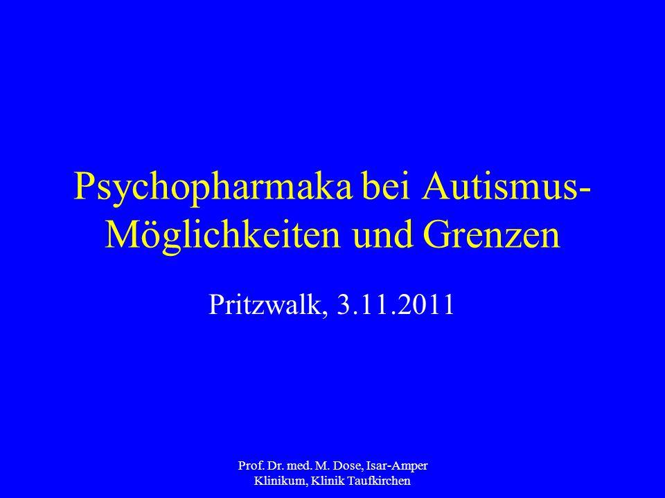 Psychopharmaka bei Autismus- Möglichkeiten und Grenzen