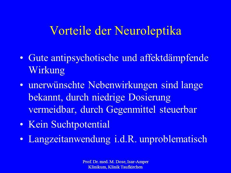 Vorteile der Neuroleptika