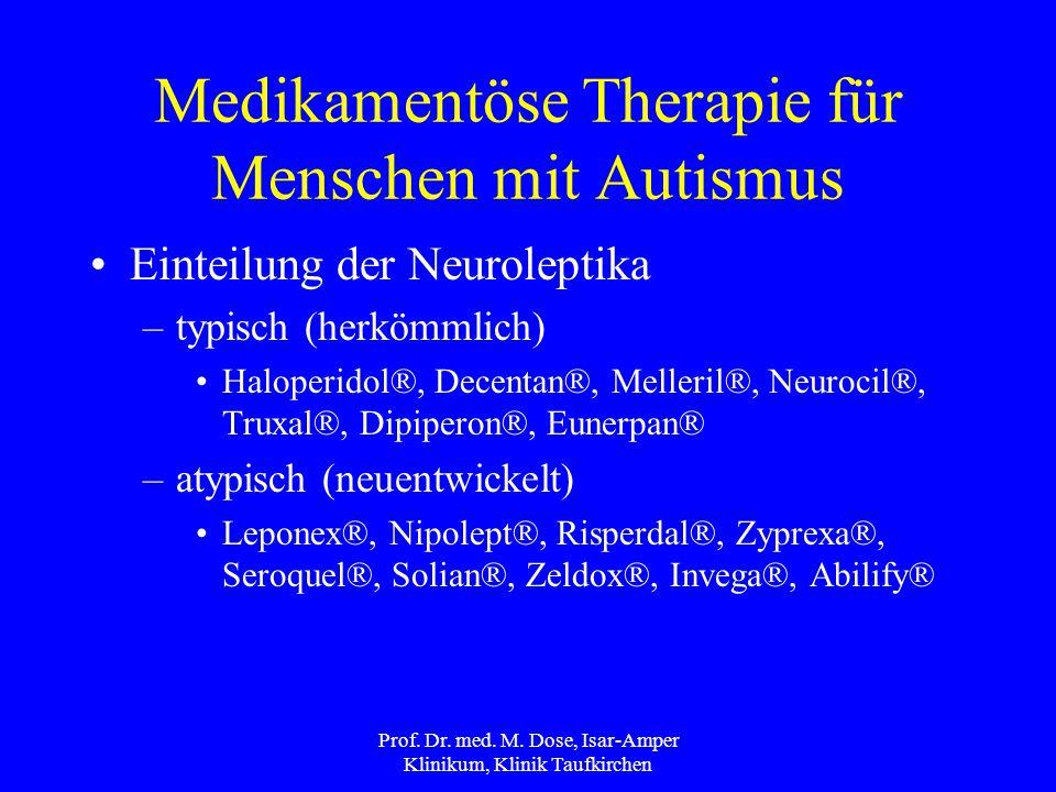 Medikamentöse Therapie für Menschen mit Autismus