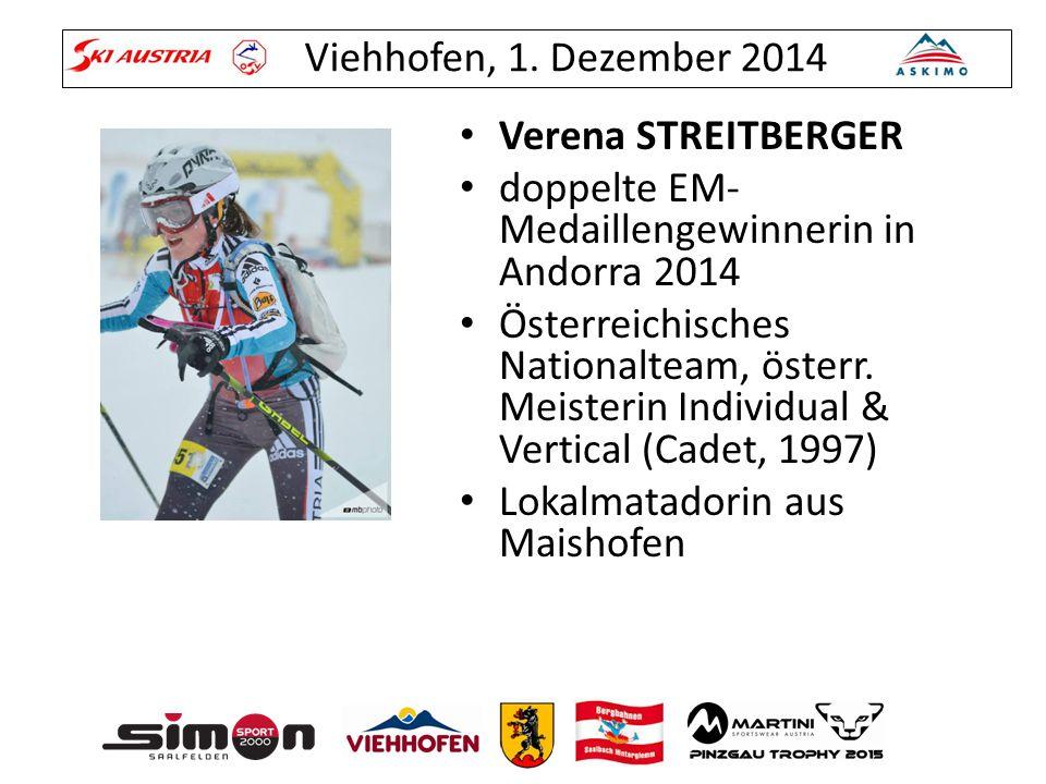 Verena STREITBERGER doppelte EM-Medaillengewinnerin in Andorra 2014.