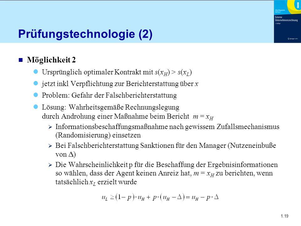 Prüfungstechnologie (2)