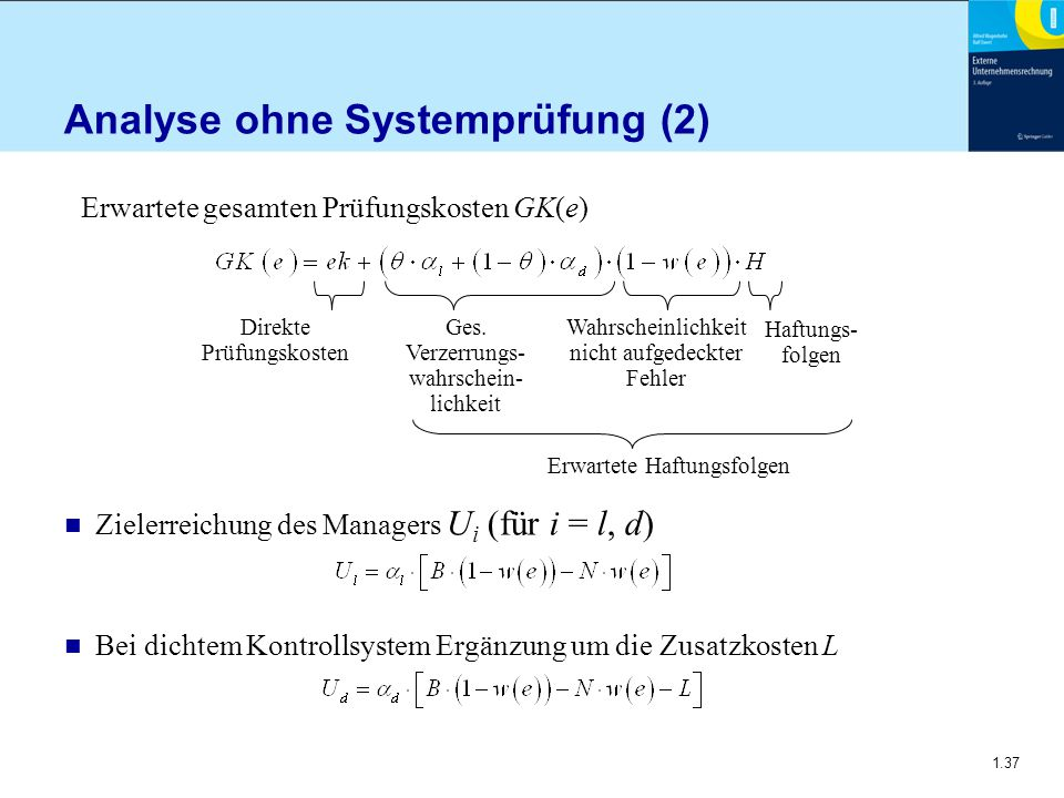 Analyse ohne Systemprüfung (2)