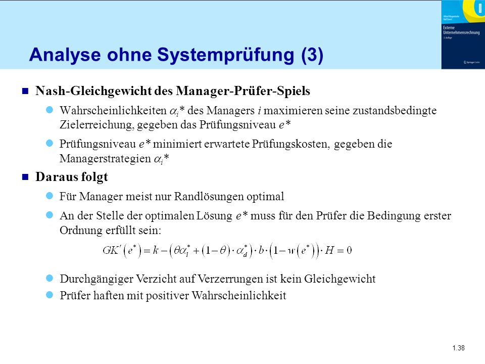 Analyse ohne Systemprüfung (3)