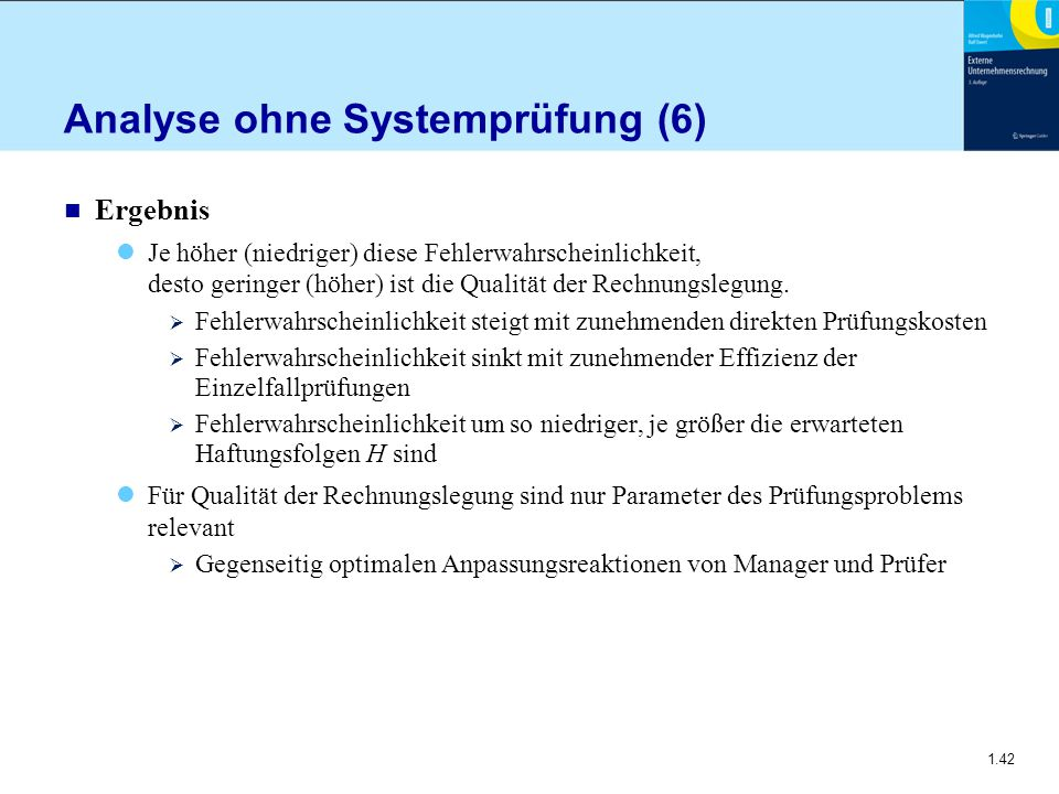 Analyse ohne Systemprüfung (6)