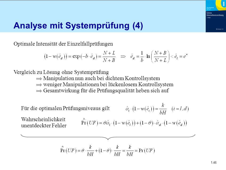 Analyse mit Systemprüfung (4)