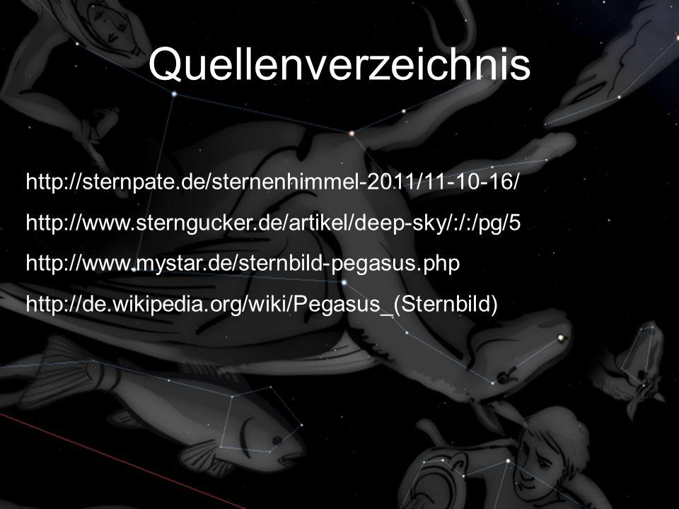 Quellenverzeichnis http://sternpate.de/sternenhimmel-2011/11-10-16/