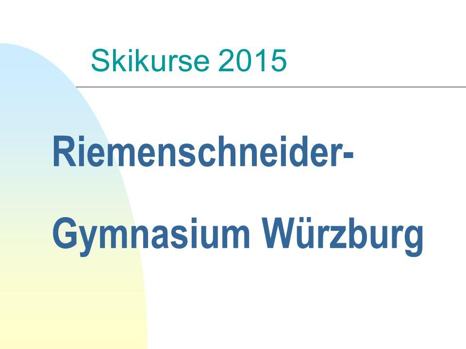 Riemenschneider- Gymnasium Würzburg