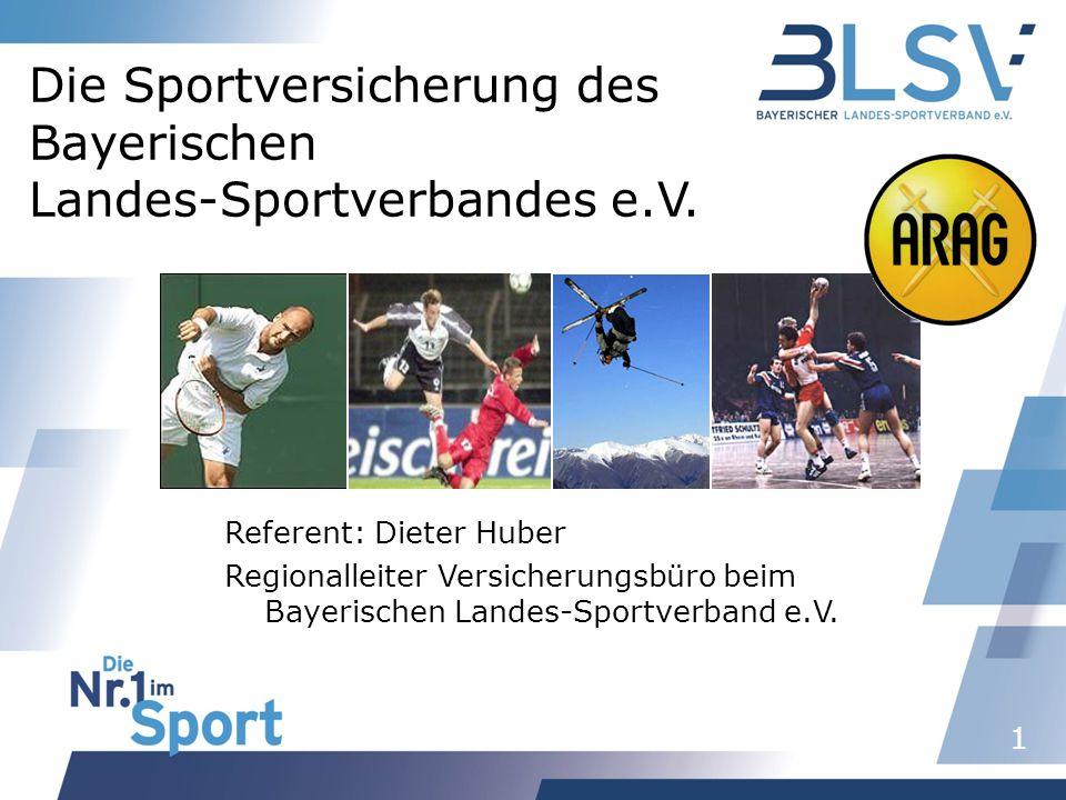 Die Sportversicherung des Bayerischen Landes-Sportverbandes e.V.