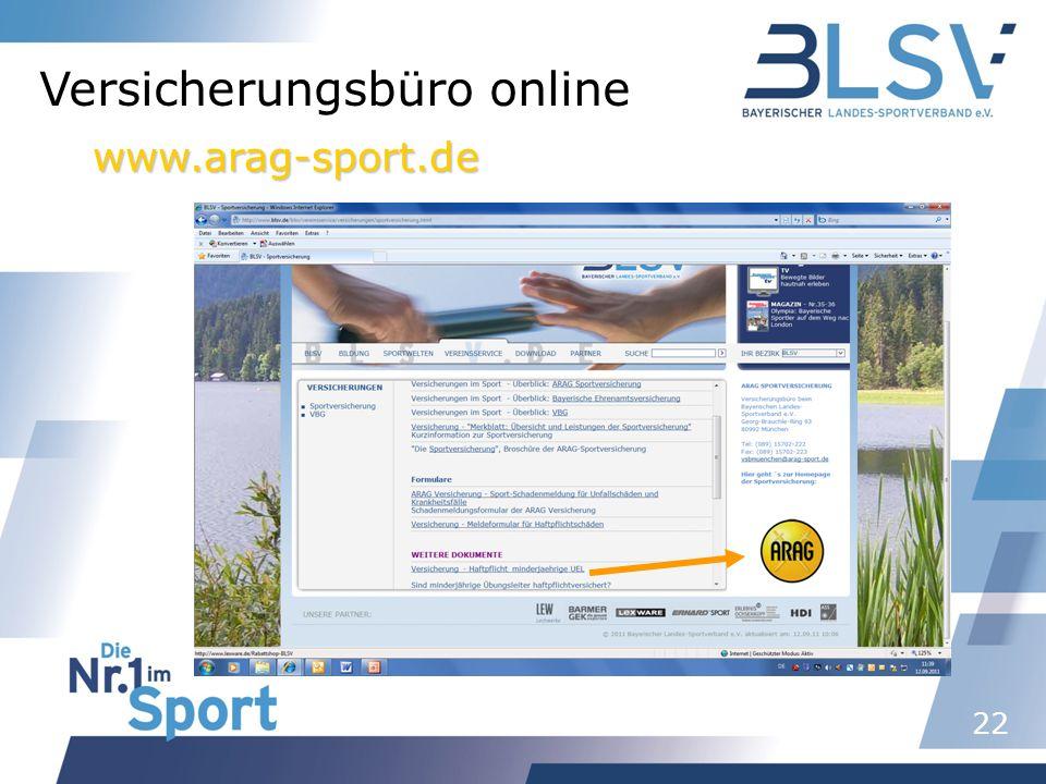 Versicherungsbüro online