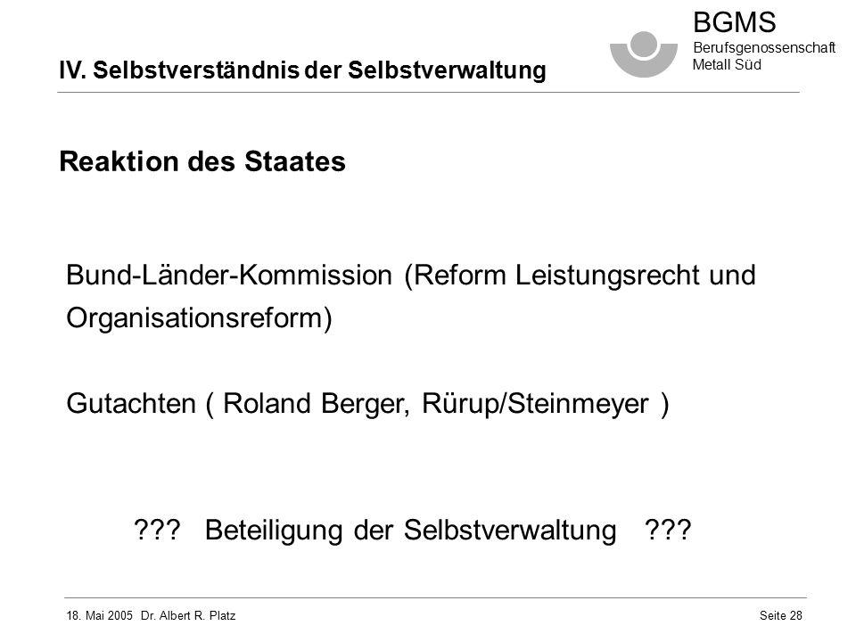 Bund-Länder-Kommission (Reform Leistungsrecht und Organisationsreform)