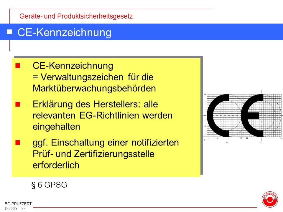 CE-Kennzeichnung CE-Kennzeichnung = Verwaltungszeichen für die Marktüberwachungsbehörden.