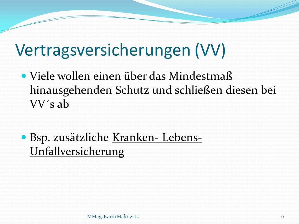 Vertragsversicherungen (VV)