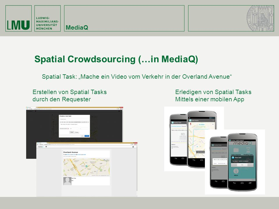 Spatial Crowdsourcing (…in MediaQ)