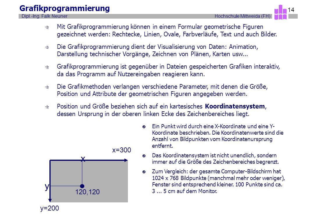 Grafikprogrammierung