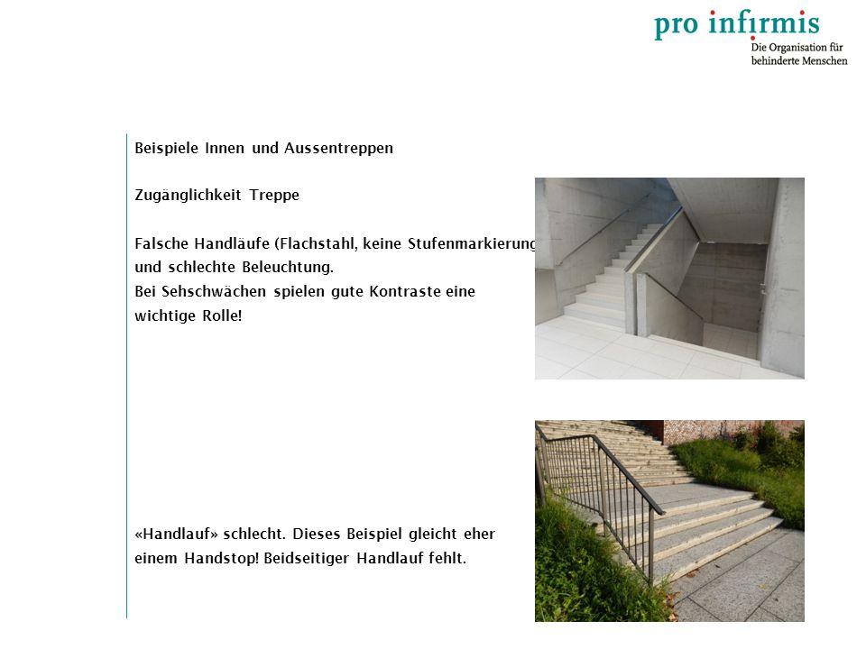 Beispiele Innen und Aussentreppen