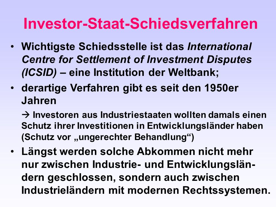 Investor-Staat-Schiedsverfahren