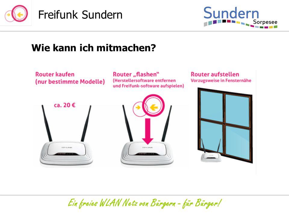 Ein freies WLAN Netz von Bürgern - für Bürger!