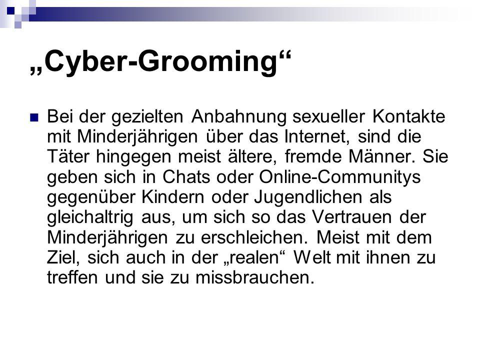 """""""Cyber-Grooming"""