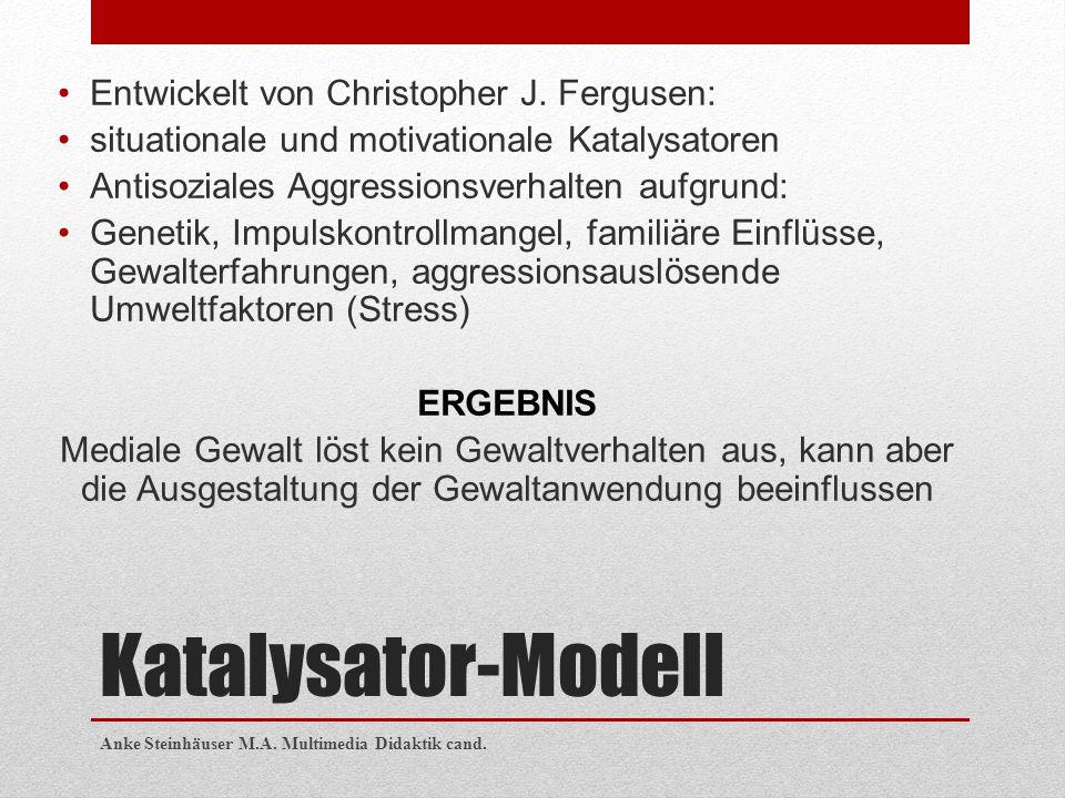Katalysator-Modell Entwickelt von Christopher J. Fergusen: