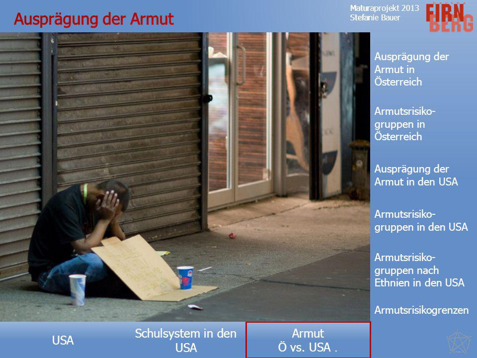 Ausprägung der Armut Ausprägung der Armut in Österreich