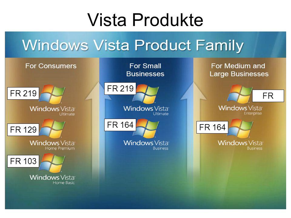 Vista Produkte FR 219 FR 219 FR FR 164 FR 164 FR 129 FR 103