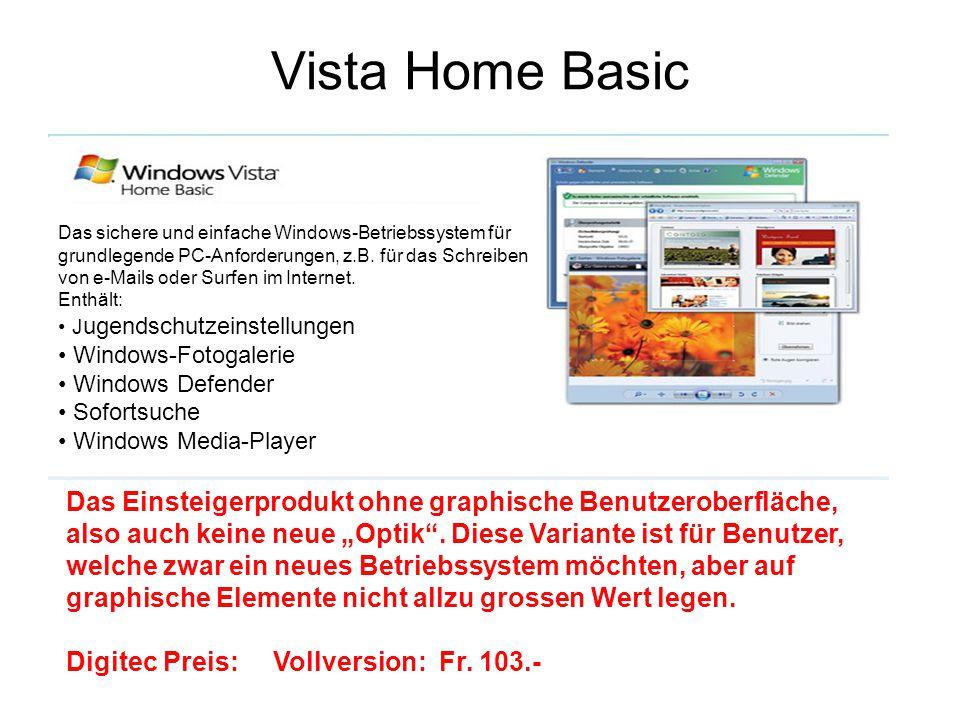 Vista Home Basic