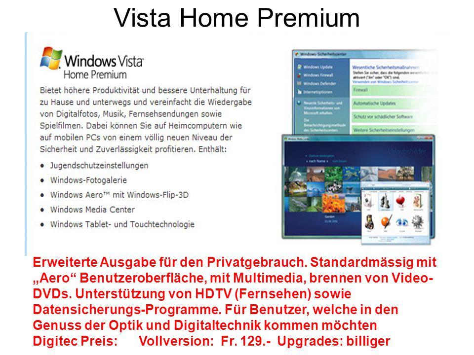 Vista Home Premium