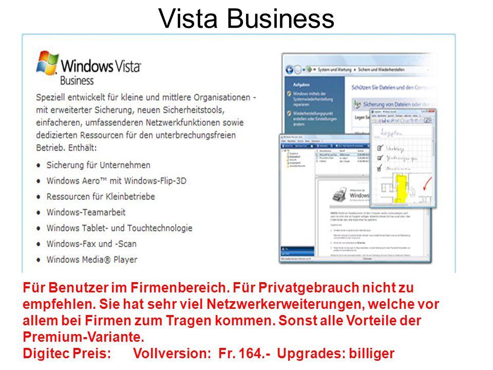 Vista Business