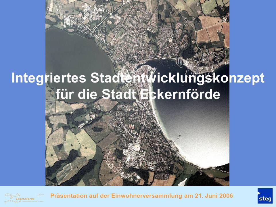 Integriertes Stadtentwicklungskonzept für die Stadt Eckernförde