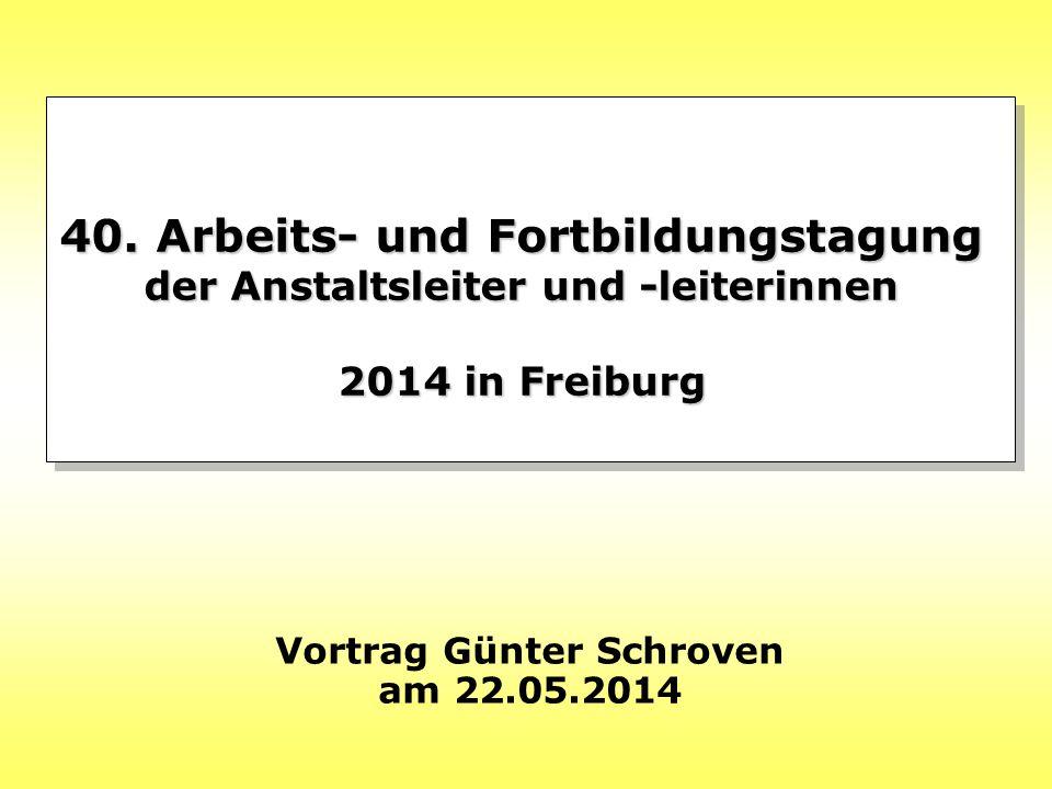 Vortrag Günter Schroven am 22.05.2014