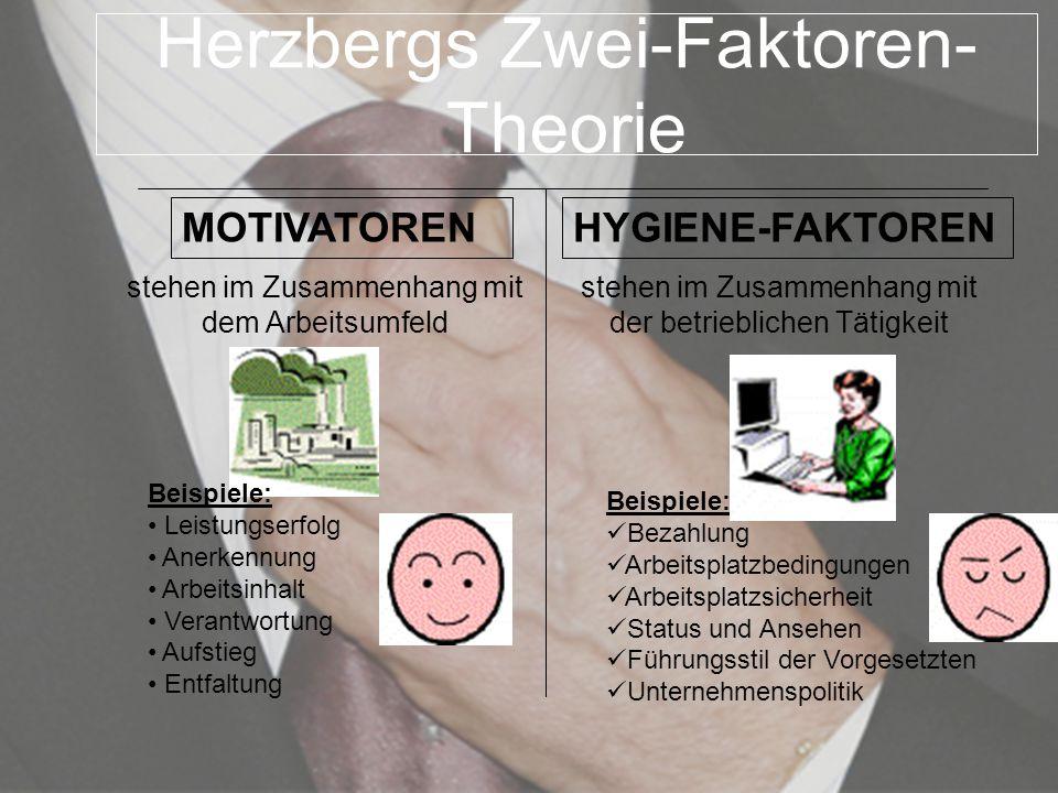 Herzbergs Zwei-Faktoren-Theorie