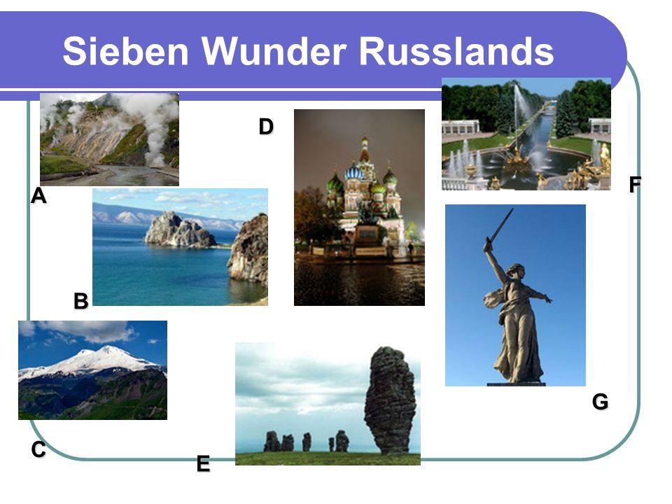 Sieben Wunder Russlands