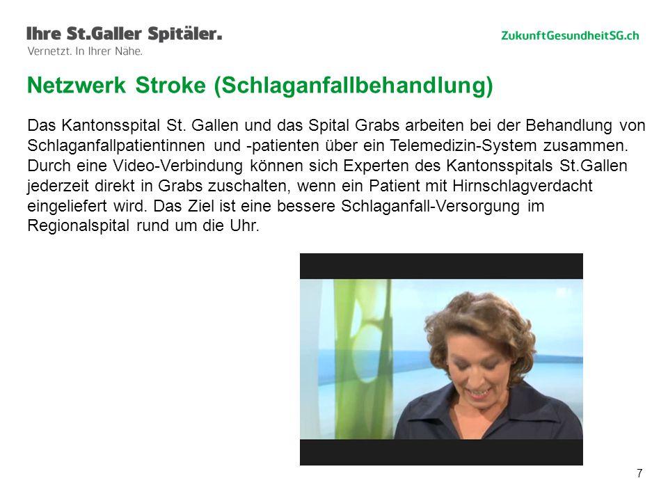 Netzwerk Stroke (Schlaganfallbehandlung)