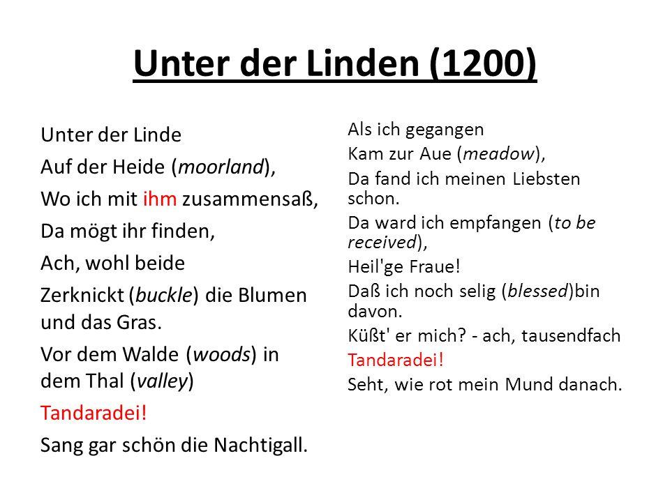 Unter der Linden (1200)