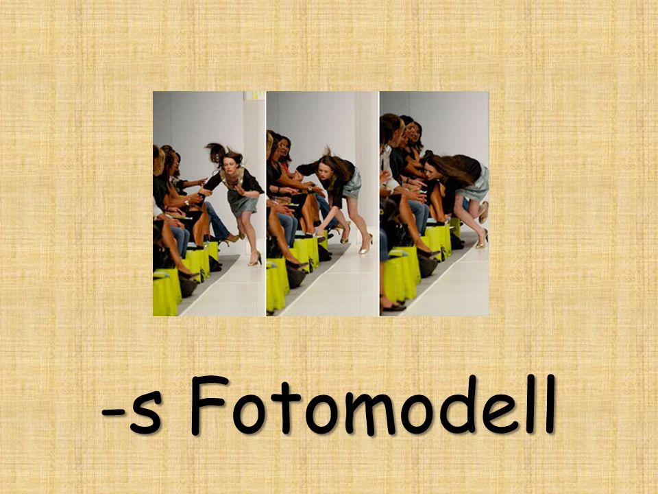 -s Fotomodell