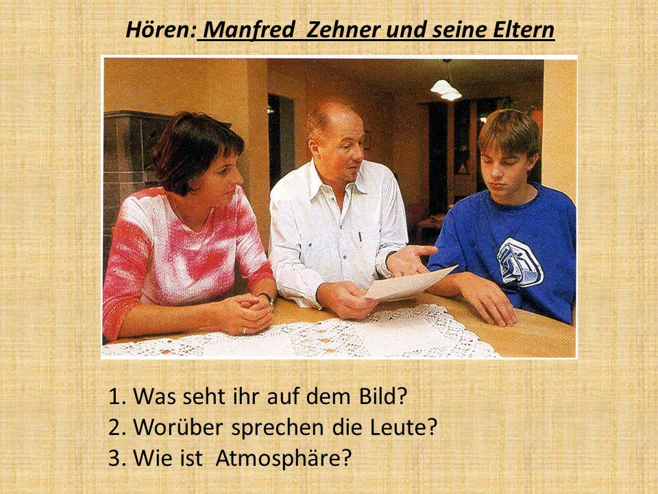 Hören: Manfred Zehner und seine Eltern