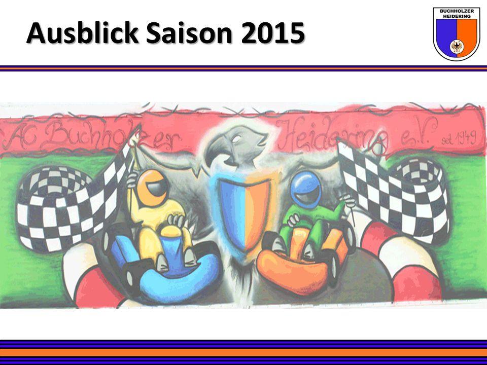Ausblick Saison 2015