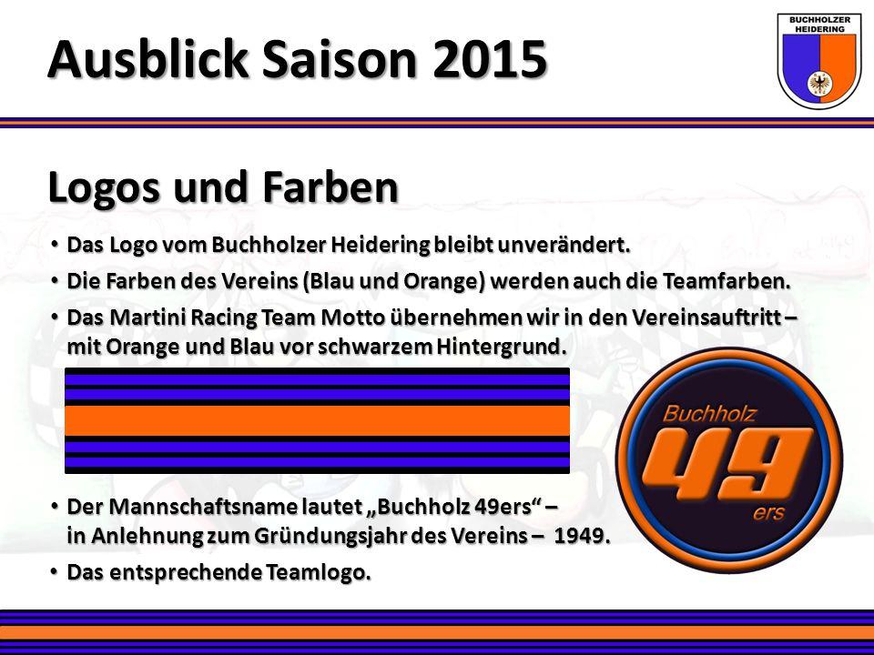 Ausblick Saison 2015 Logos und Farben