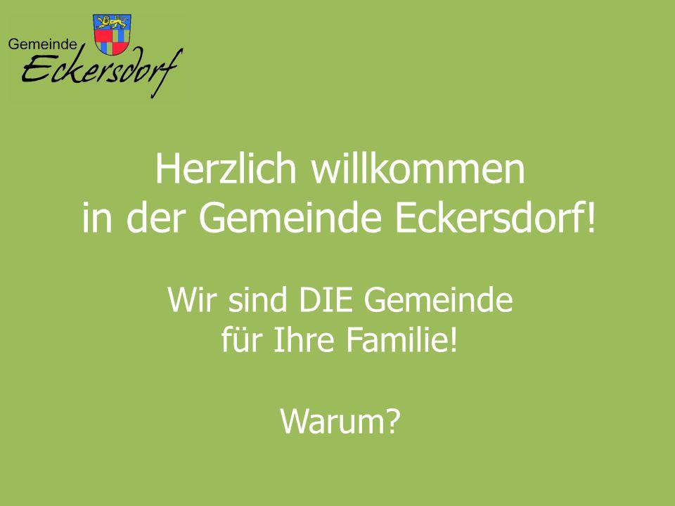 in der Gemeinde Eckersdorf!