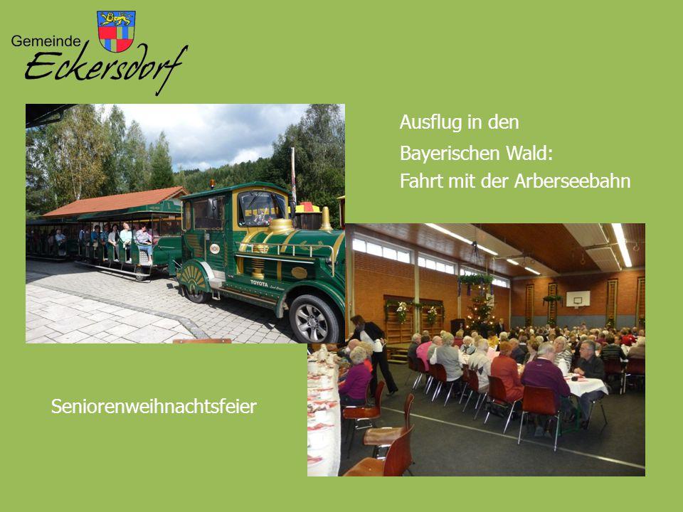 Ausflug in den Bayerischen Wald: Fahrt mit der Arberseebahn