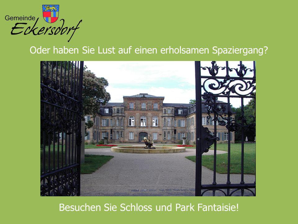 Besuchen Sie Schloss und Park Fantaisie!