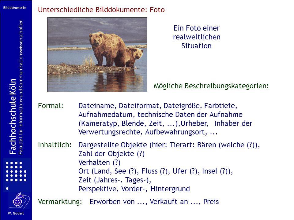 Fachhochschule Köln Unterschiedliche Bilddokumente: Foto