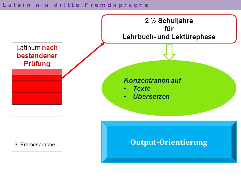 Lehrbuch- und Lektürephase