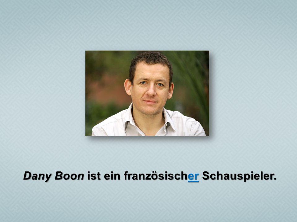 Dany Boon ist ein französischer Schauspieler.