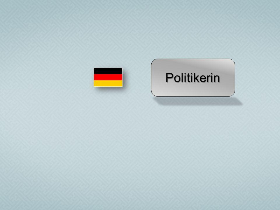 Politikerin
